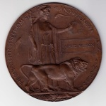 """Alfred Wesson's """"death penny"""""""