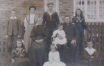 Frederick Dixon and his family