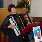 Our accordionist