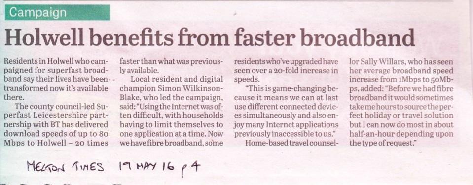Melton Times 19th May 2016